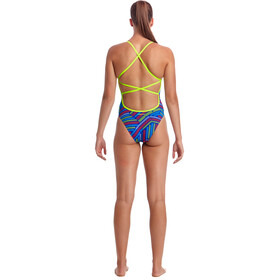 Funkita Strapped In Traje de baño de una pieza Mujer, chain reaction